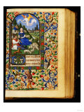 The Annunciation, Book of Hours in Latin and French Giclee Print