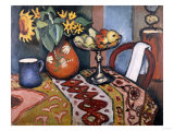 Still Life with Sunflowers II, 1911 Giclee Print by Frank Wright Bourdillon