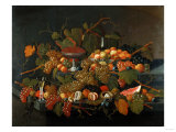 Still Life: the Abundance of Fruit Giclee Print by Arnold Boonen