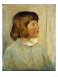 My Little Daughter Giclee Print by Julian Alden Weir