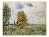 La Plaine De Veneux-Nadon, 1881 Prints by Eugène Boudin