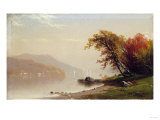 Autumn on the Lake, 1866 Prints by Hendrik Avercamp