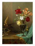 A Vase of Mixed Flowers, 1865-1875 Giclee Print by Eugène Boudin