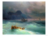 The Shipwreck, 1873 Giclee Print by Carl Frederic Aagaard