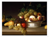 Fruit in a Chinese Basket, 1822 Giclee Print by James Peale