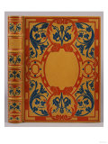 An Art Nouveau Mosaic Binding by Marius Michel for 'Paul Et Virginie' Prints by Henry Thomas Alken