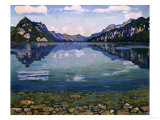 Thunersee with Reflection, 1904 Giclee Print by Edgar Degas