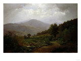 Bouquet Valley in the Adirondacks, 1864 Giclee Print by Hendrik Avercamp