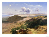 The Valley of Mexico, 1882 Giclée-Druck von Jose Maria Velasco