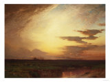 Twilight on the Western Plains Giclee Print by Eugène Boudin