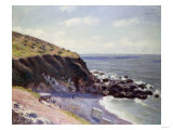 Lady's Cove, Langland Bay, 1897 Print by Emilio Boggio