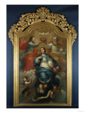 Coronation of the Virgin Giclee Print by Emilio Boggio