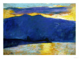 Sunrise, 1896 Reproduction proc&#233;d&#233; gicl&#233;e par Edgar Degas