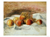 Still Life with Peaches Posters by Eugène Boudin