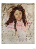 Sketch for Portrait of Agnes, Age Six Giclee Print by Mary Cassatt