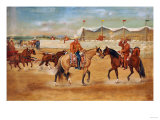 The Arrival of the Boss at the Rodeo, 1920 Giclee Print by Jose Agustin Arrieta