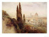 Florence Prints by Carl Frederic Aagaard