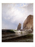 Breaking Surf Giclee Print by Eugène Boudin