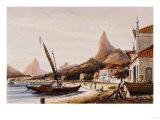 Botafogo Bay, Suburbs of Rio De Janeiro, 1852 Print