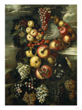Autumn, One of the Four Seasons Giclee Print by Adler &amp; Sullivan 