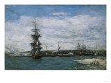 Le Port Du Havre, Circa 1864-1866 Prints by Eugène Boudin