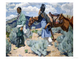 Midday Giclee Print by Walter Ufer
