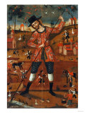 San Isidro Labrador Giclee Print by Jose Agustin Arrieta