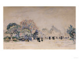 The Tuilleries, Paris, 1910 Giclee Print by Edgar Degas