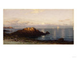 Sunrise, Grand Manan Giclee Print by Albert Bierstadt