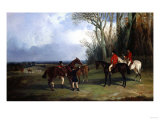 The Middleton-Mounting at Covertside Giclee Print by Giovanni Battista Benvenuti