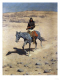 Apache Scout Posters by Frederic Sackrider Remington