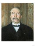 Portrait of Pere Papeille, Pontoise Prints by Herri Met De Bles