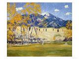 Taos Lane Giclee Print by Emilio Boggio