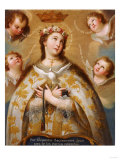 Coronation of the Virgin Giclee Print by Jose Agustin Arrieta