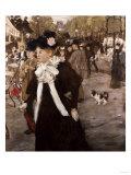 Boulevard Des Italiens, Paris Posters by Mary Cassatt