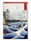 The Sea off Satta in Suruga Province', from the Series 'The Thirty-Six Views of Mt. Fuji' Prints by Hashiguchi Goyo
