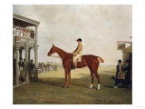 Duke of Westminster's Filly 'Defiance' after She Won the Northampton Gold Cup September 15, 1813 Poster by Giovanni Battista Benvenuti