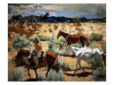 The Southwest Giclee Print by Emilio Boggio