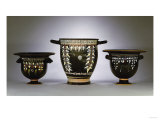 A Collection of Apulian Gnathia-Ware Bell Kraters, Circa 330-300 B.C Giclee Print