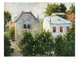 Suburban Garden Near Asnieres, 1883 Posters by Jean-Baptiste-Camille Corot