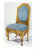 Parcel Gilt Armchair by Antonio Gaudi (1852-1926) Giclee Print by Adler &amp; Sullivan 