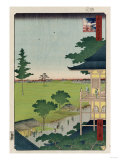 Sazai Hall, Five Hundred Raken (Temple) Giclee Print by Hashiguchi Goyo