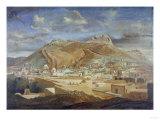 Vista De Zacatecas Con El Cerro Dela Bufa Premium Giclee Print by Cleofas Almanza