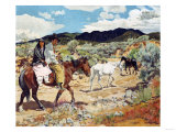 His Wealth Giclee Print by Walter Ufer