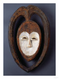 A Fine and Rare Kwele Mask Giclee Print