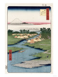 Nekozane at Horikiri', from the Series 'One Hundred Views of Famous Places in Edo' Giclee Print by Hashiguchi Goyo