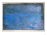 Waterloo Bridge, Brouillard, Pastel on Blue Paper 1901 Giclée-tryk af Edgar Degas