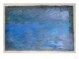 Waterloo Bridge, Brouillard, Pastel on Blue Paper 1901 ジクレープリント : エドガー・ドガ