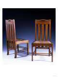 An Oak Dining Chair Designed by Charles Rennie Mackintosh, Circa 1898-99 Giclee Print by Georges Causard