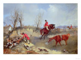 The Kill, Aka Henry Alken, Jun Premium Giclee Print by Carl Frederic Aagaard